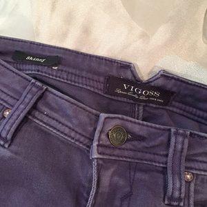 Vigoss purple jeans